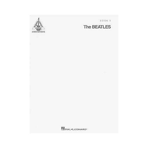 Hal Leonard The Beatles - The White Album Guitar Tab Book 1