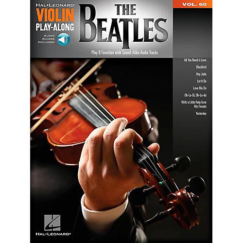 Hal Leonard The Beatles - Violin Play-Along Volume 60-thumbnail