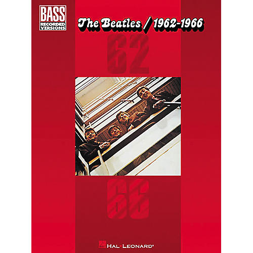 Hal Leonard The Beatles 1962-1966 Bass Tab Songbook