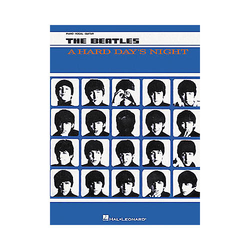 Hal Leonard The Beatles A Hard Day's Night Piano/Vocal/Guitar Artist Songbook-thumbnail