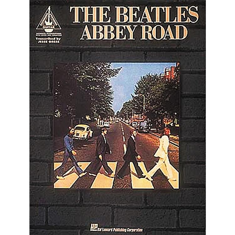 Hal LeonardThe Beatles Abbey Road Guitar Tab Book
