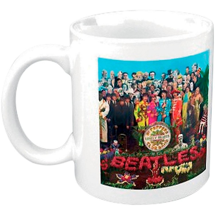 ROCK OFFThe Beatles Boxed Mug: Sgt Pepper