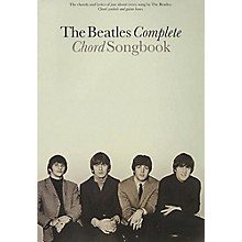 Hal Leonard The Beatles Complete Guitar Chord Songbook