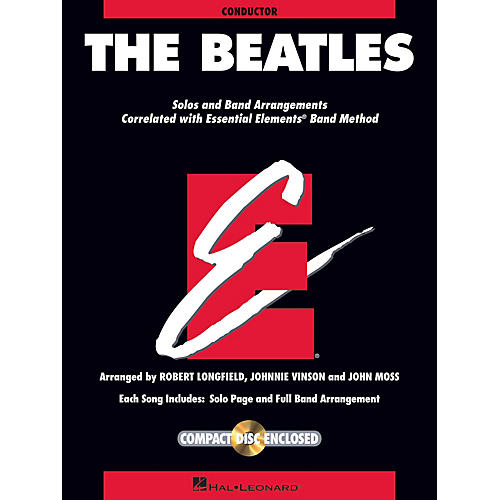 Hal Leonard The Beatles Concert Band Level 1.5 by The Beatles Arranged by Johnnie Vinson-thumbnail