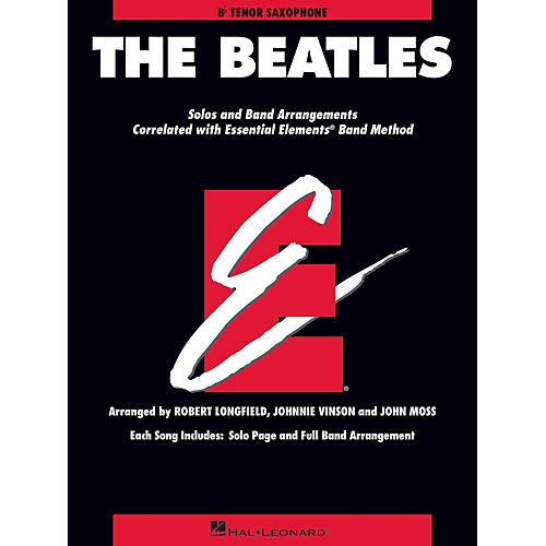 Hal Leonard The Beatles Essential Elements Band Folios Series Book by The Beatles Arranged by Johnnie Vinson-thumbnail