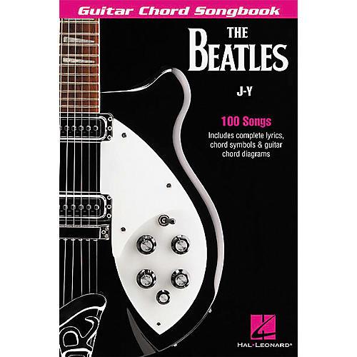 Hal Leonard The Beatles J-Y Guitar Chord Songbook