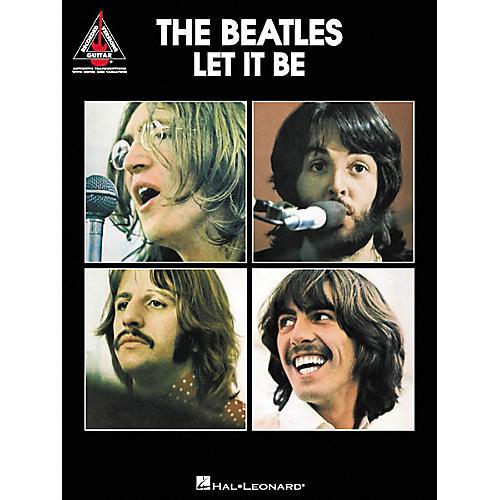 Hal Leonard The Beatles Let It Be Guitar Tab Songbook-thumbnail