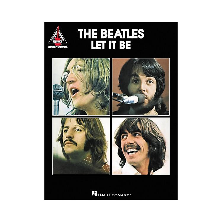 Hal LeonardThe Beatles Let It Be Guitar Tab Songbook
