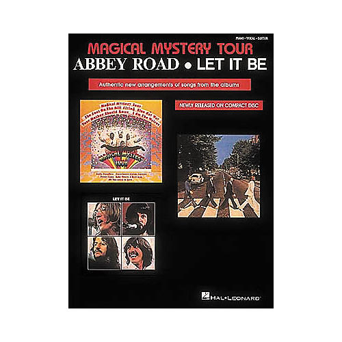 Hal Leonard The Beatles Magical Mystery Tour/Abbey Road/Let It Be Piano/Vocal/Guitar Artist Songbook
