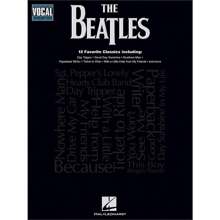 Hal Leonard The Beatles Note-for-Note Vocal Transcriptions