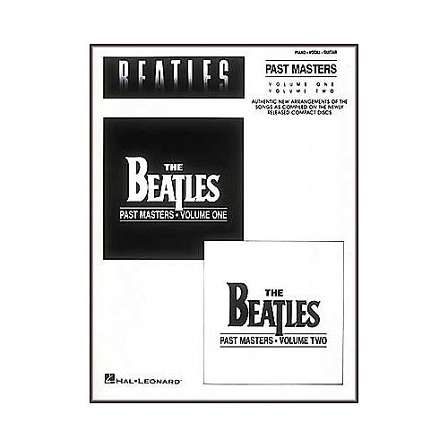 Hal Leonard The Beatles-Past Masters Piano/Vocal/Guitar Artist Songbook-thumbnail
