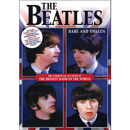 Hal Leonard The Beatles Rare And Unseen The Unofficial Account Of The biggest Band In The World DVD