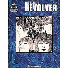 Hal Leonard The Beatles Revolver Guitar Tab Book
