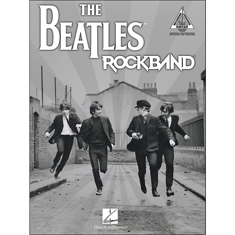Hal Leonard The Beatles Rock Band Tab Book