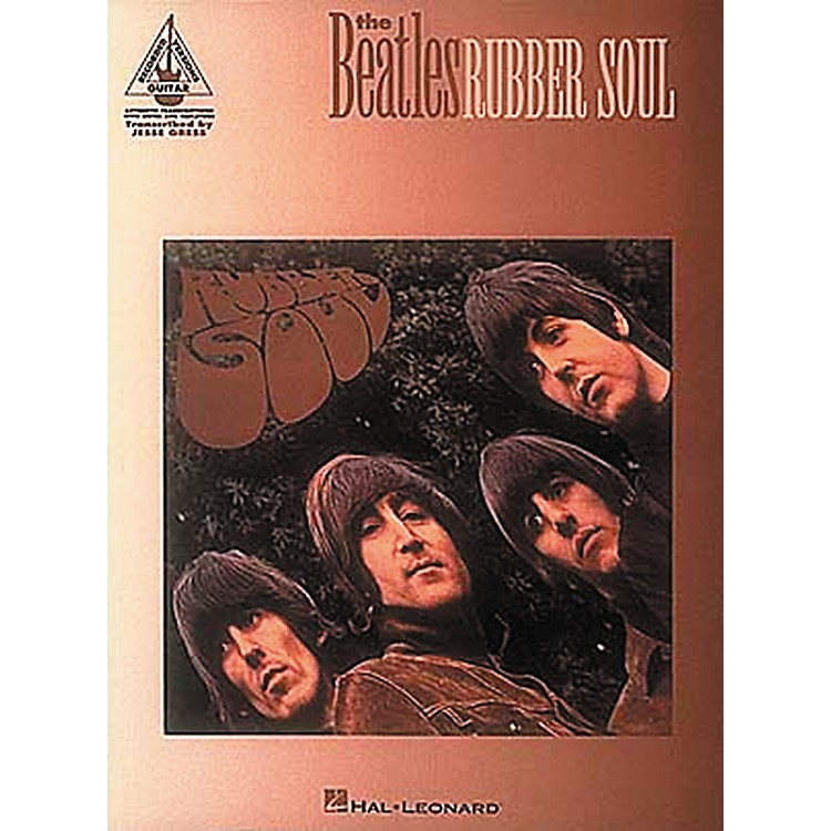 Hal Leonard The Beatles Rubber Soul Guitar Tab Book