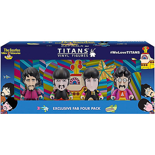 Funko The Beatles Sgt.Pepper's Disguise 3-Inch Vinyl Figure 4-Pack