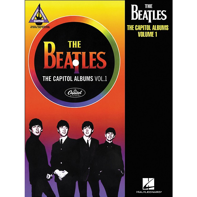 Hal Leonard The Beatles: The Capitol Albums Volume 1 Tab Book
