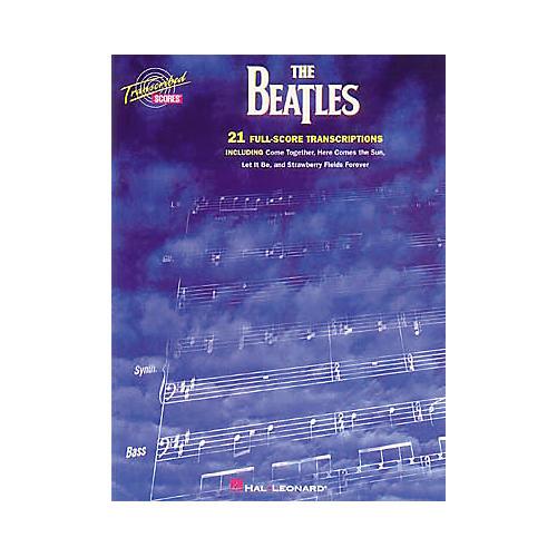 Hal Leonard The Beatles Transcribed Scores Book