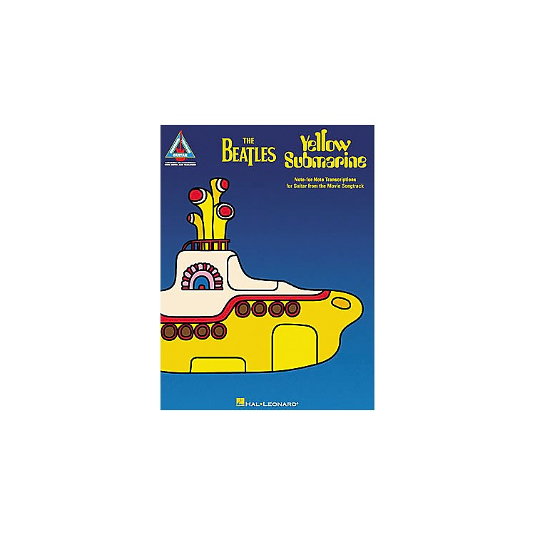 Hal Leonard The Beatles Yellow Submarine Guitar Tab Songbook