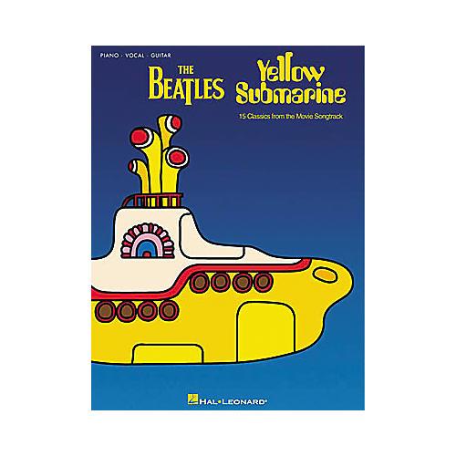 Hal Leonard The Beatles Yellow Submarine Piano, Vocal, Guitar Songbook