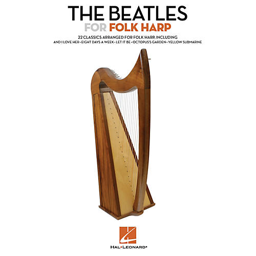 Hal Leonard The Beatles for Folk Harp Folk Harp Series Softcover Performed by The Beatles-thumbnail