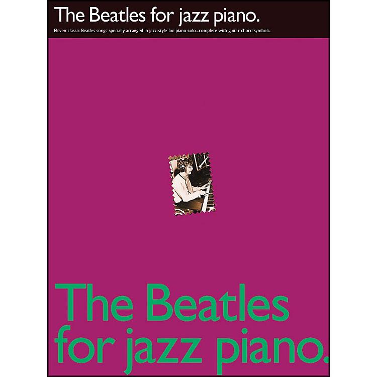 Hal LeonardThe Beatles for Jazz Piano arranged for piano solo