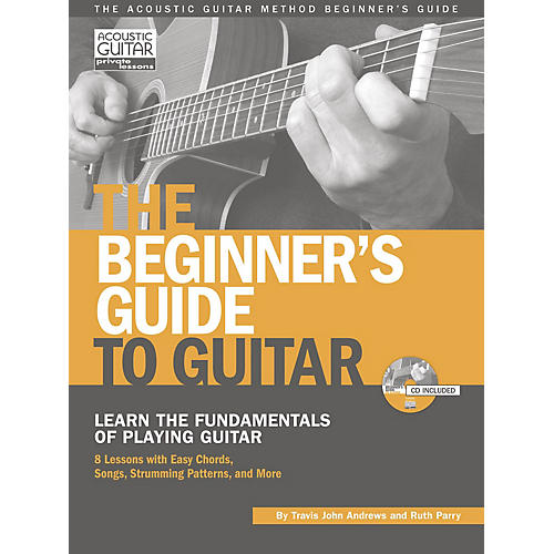 String Letter Publishing The Beginner's Guide to Guitar String Letter Publishing Series Softcover with CD by Travis Andrews