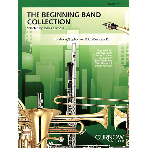 Curnow Music The Beginning Band Collection (Grade 0.5) Concert Band Level .5 to 1 Arranged by James Curnow-thumbnail