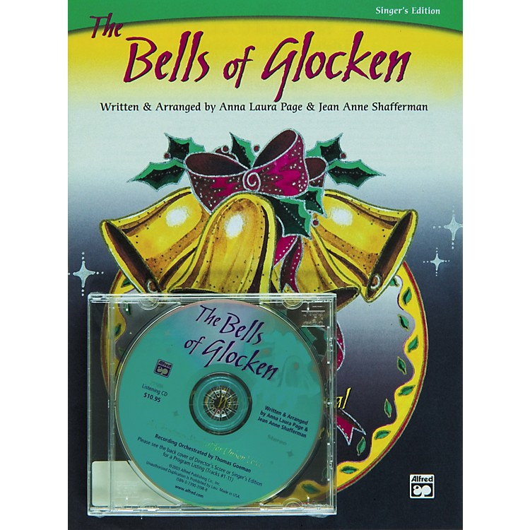 Alfred The Bells of Glocken Book/CD