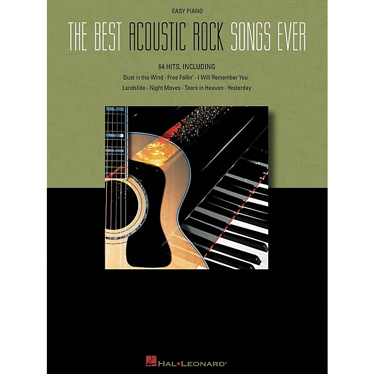 Hal LeonardThe Best Acoustic Rock Songs Ever For Easy Piano