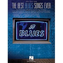 Hal Leonard The Best Blues Songs Ever for PVG (Piano/Vocal/Guitar)