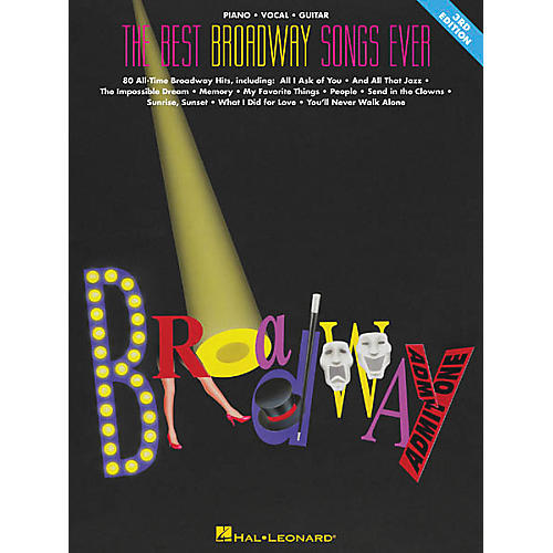 Hal leonard the best broadway songs ever updated piano for Best house music ever