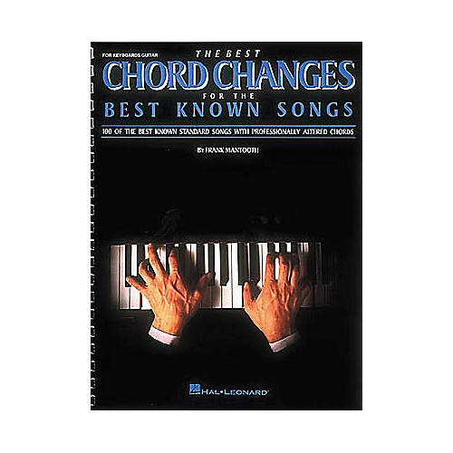 Hal Leonard The Best Chord Changes for the Best Known Songs (Fake Book)