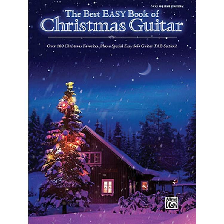 Hal LeonardThe Best Easy Book Of Christmas Guitar Easy Guitar Tab Songbook