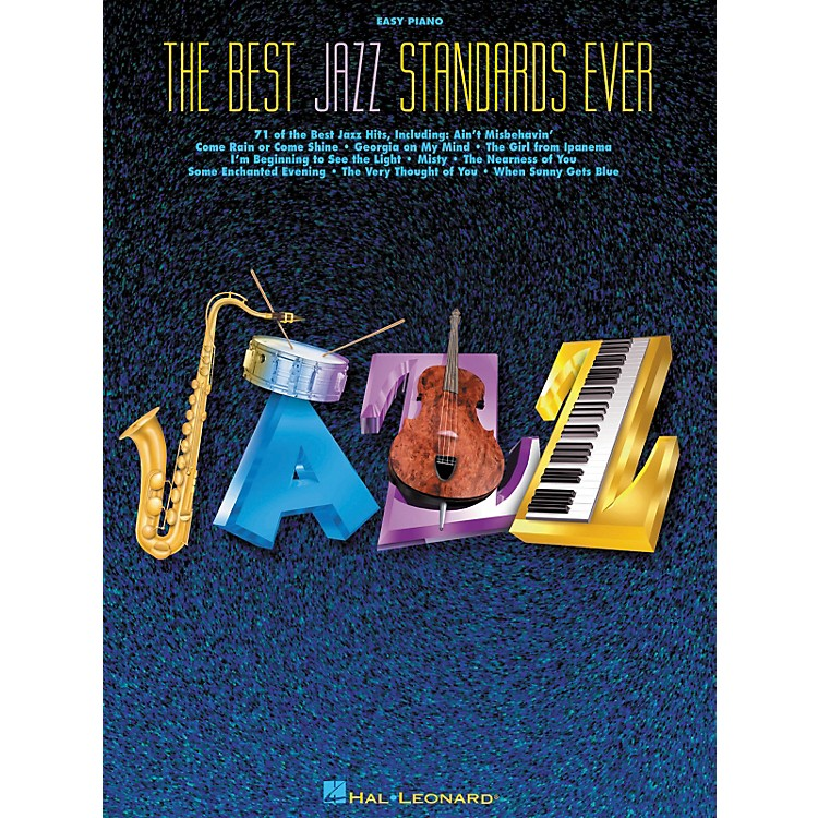 Hal Leonard The Best Jazz Standards Ever For Easy Piano