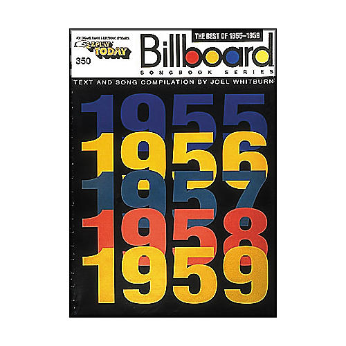 Hal Leonard The Best Of 1955-1959 Billboard Songbook Series E-Z Play 350-thumbnail