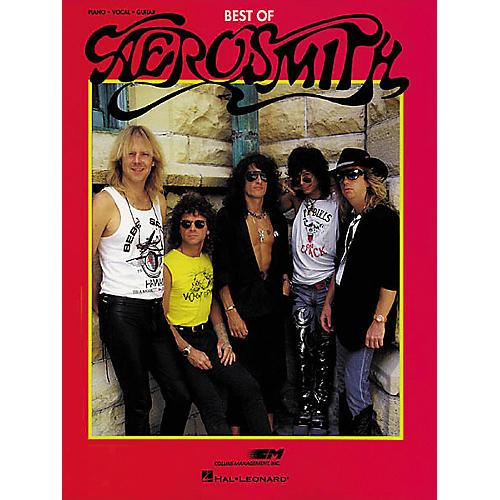 Hal Leonard The Best Of Aerosmith Piano/Vocal/Guitar Artist Songbook