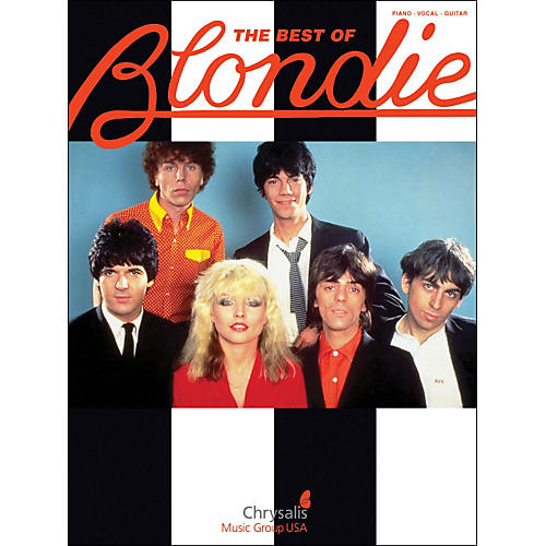 Hal Leonard The Best Of Blondie arranged for piano, vocal, and guitar (P/V/G)-thumbnail