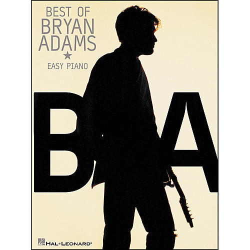 Hal Leonard The Best Of Bryan Adams for Easy Piano