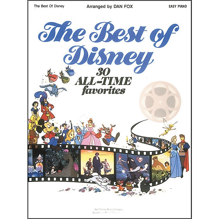 Hal Leonard The Best Of Disney For Easy Piano by Dan Fox