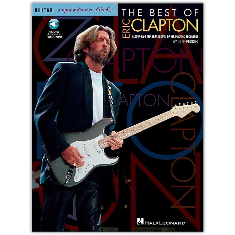 Hal LeonardThe Best Of Eric Clapton - Signature Licks Guitar Tab Songbook with CD