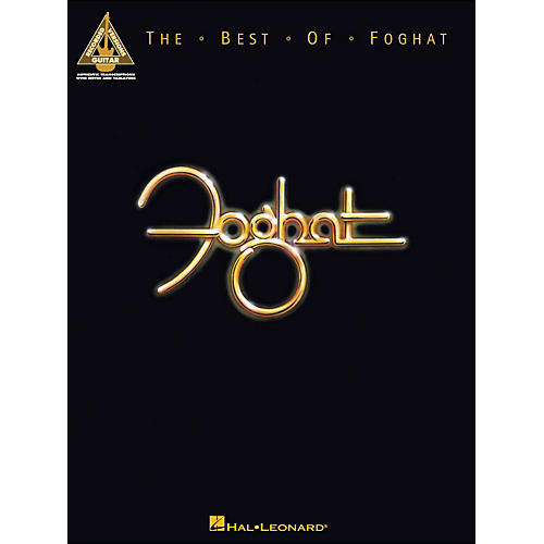 Hal Leonard The Best Of Foghat Guitar Tab Songbook