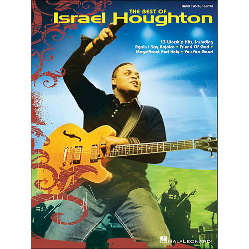 Hal Leonard The Best Of Israel Houghton arranged for piano, vocal, and guitar (P/V/G)-thumbnail
