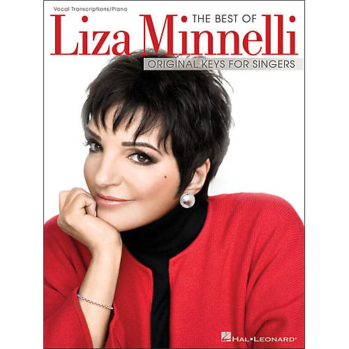 Hal Leonard The Best Of Liza Minnelli - Original Keys for Singers (Vocal / Piano)