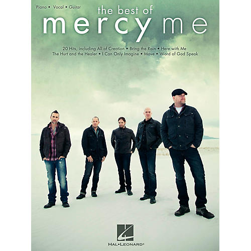 Hal Leonard The Best Of MercyMe for Piano/Vocal/Guitar (P/V/G)