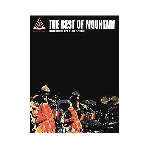 Hal Leonard The Best Of Mountain Book-thumbnail