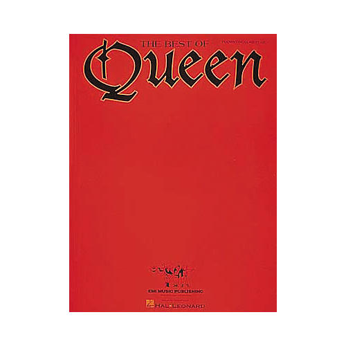 Hal Leonard The Best Of Queen Piano, Vocal, Guitar Songbook