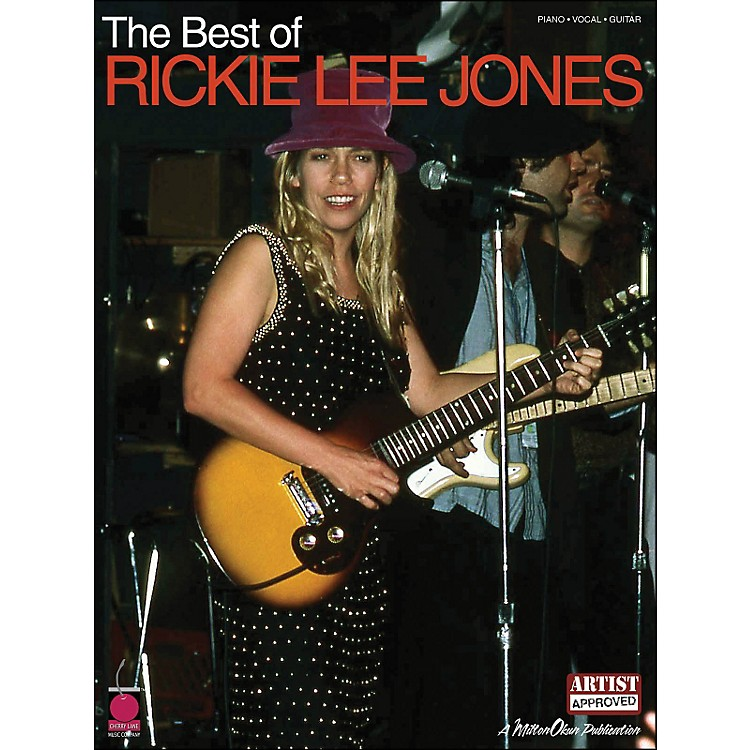 Cherry LaneThe Best Of Rickie Lee Jones arranged for piano, vocal, and guitar (P/V/G)