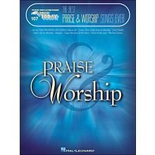 Hal Leonard The Best Praise & Worship Songs Ever E-Z Play 107