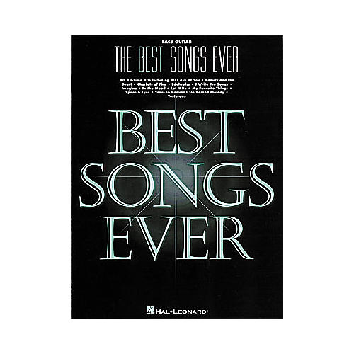 Hal Leonard The Best Songs Ever - 5th Edition Book